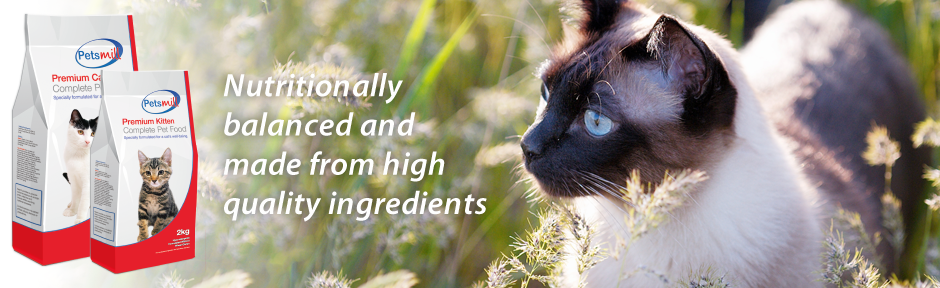 Petsmill: Nutritionally balanced and made from high quality ingredients
